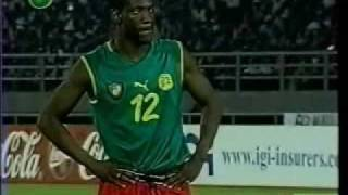 Cameroun VS  Senegal CAN2002