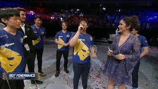 Frozen tbf finalini kazandıktan sonra türkçe konuşuyor!!!