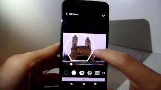 HTC One A9   Szoftver bemutató  Negyedik rész  Képszerkesztő és Zoe