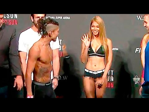 15 MOST AWKWARD MMA WEIGH IN MOMENTS