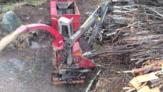 Scania R620 Wood-chipper
