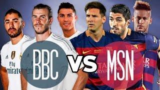 MSN vs BBC - The Best Trio Battle - Skills & Goals 2015/16 | HD