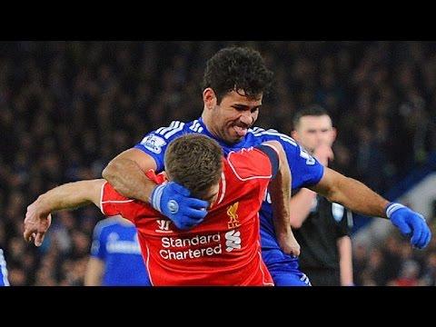 Football Fights 2015 • Fights Brawls • World Cup El Clasico ► Diego Costa Ronaldo Messi Zidane Pepe
