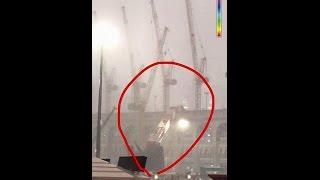 مقطع فيديو يظهر لحظة وقوع حادث سقوط رافعة فى الحرم المكى