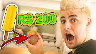 SORVETE DE R$ 200 !!! ( O SORVETE MAIS CARO DO MUNDO!! )