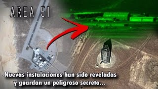 NUEVA AREA 51 ES DESCUBIERTA POR GOOGLE MAPS