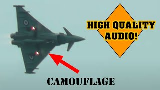 Cover Your Ears RAF Eurofighter Typhoon Amazing Sound Dartmouth