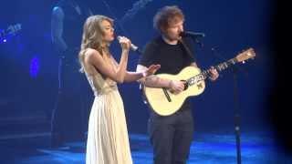 Taylor Swift / Ed Sheeran - I See Fire - live in Berlin 2014