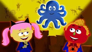 Learn Animals And Colors In The Secret Adventure Tunnel