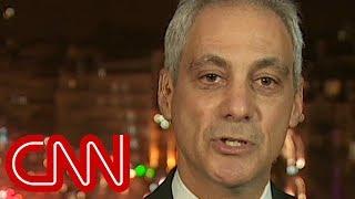 Rahm Emanuel defends Chicago, chides media for rush to believe Jussie Smollett