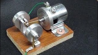 Make a Solenoid Engine (motor) TIPS #419 tubalcain