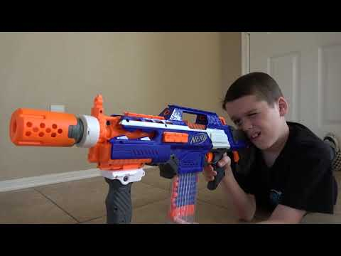 Nerf Blaster Battle! Deadly Rattlesnake Toy Attacks! Ethan Vs. Cole Vs. Vicious Reptile Toy