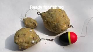 Feeder Fishing Rig & Carp Bait(158) DIY Fishing Bait - Mồi Lăng Xê Cá Chép