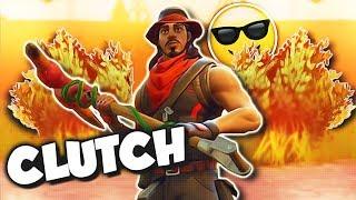 FUNNY BUSH CLUTCH & FAIL MOMENTS!! (Fortnite Battle Royale Funny Moments)