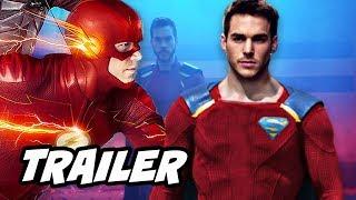 The Flash 4x11 Promo - New Legion of Superheroes Comics Suit Reaction
