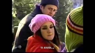 Rebelde Mexico Capitulo 161, Roberta besa a Miguel y Diego a Mia (Greek Subs)