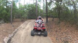 Croom Atv Trail Riding LTR 450 - (4/27/13)