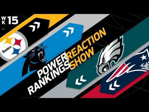 Xxx Mp4 Power Rankings Week 15 Reaction Show Another New 1 In The NFL NFL Network 3gp Sex