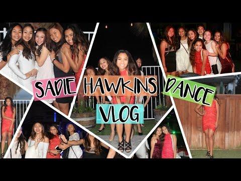 Sadie Hawkins Dance Vlog moreitzmebrianna♡