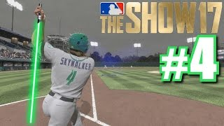 USING THE FORCE TO PULL A BALL FAIR! | MLB The Show 17 | Road to the Show #4