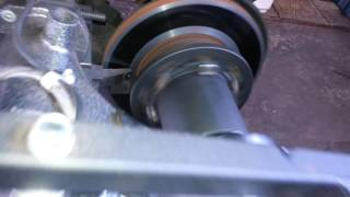 Brake services in Jamaica - Toyota hiace brake skimming
