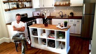 IKEA HACK - Kitchen Island DIY Project