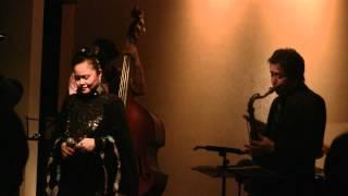 Maria Lourdes Sings Kitano Yado Kara. (Jazzer Maria Lourdes  sometimes sings Engka)