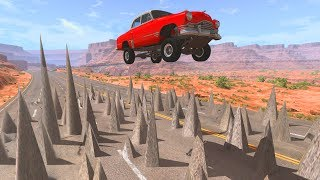 Crazy Road! - BeamNG Drive Crashes,Fail Compilation