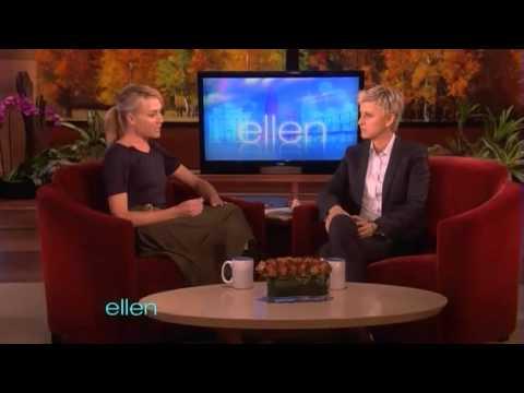 Portia de Rossi on The Ellen DeGeneres Show 4th November 2011 Part 2 2