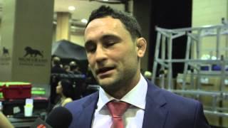 UFC 189: Frankie Edgar Backstage Interview