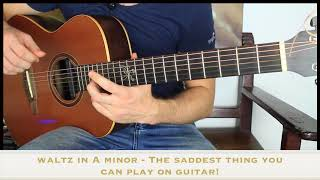 The Saddest Music you Can play on Guitar.