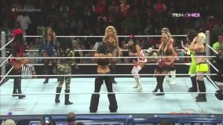 WWE Divas Halloween Battle Royal (Full Match)