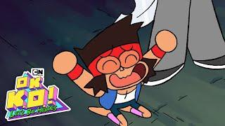 OK K.O.! Let's Be Heroes | Battling Galgarion | Cartoon Network