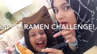 Spicy Korean RAMEN noodle CHALLENGE