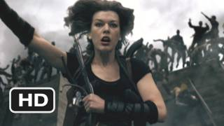 Resident Evil: Afterlife #2 Movie CLIP - The Undead Go Over the Edge (2010) HD