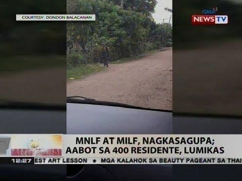 Xxx Mp4 BT MNLF At MILF Nagkasagupa Aabot Sa 400 Residente Lumikas 3gp Sex