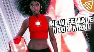 How the New Female Iron Man Will Change the MCU! (Nerdist News w/ Jessica Chobot)