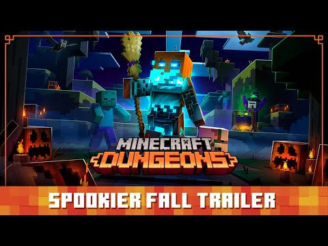 Minecraft Dungeons Spookier Fall – Official Trailer