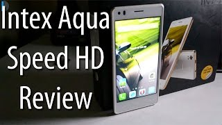 Intex Aqua Speed HD Review