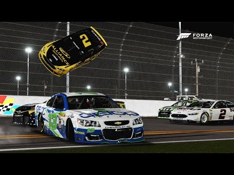 He Went Flying! | Forza Motorsport 6 | NASCAR Expansion