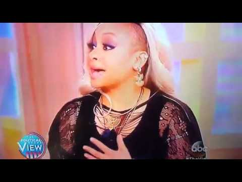 Ann Coulter Shuts Up Raven Symone On The View