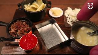 Making the smallest lasagna in the world by Jay Baron