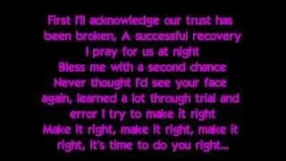 [HQ] Justin Bieber - Recovery (Lyrics on screen) [2013]