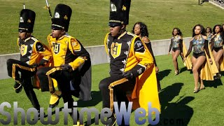 Alabama State Marching In 2018 vs Jackson State