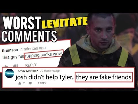 THE FUNNIEST COMMENTS ON LEVITATE *really bad*
