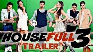 Housefull 3 Trailer (2016) | Akshay, Jacqueline, Abhishek , Nargis, Riteish and Lisa | Review