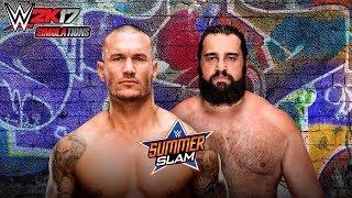 WWE 2K17 - SUMMER SLAM 2017: Randy Orton vs Rusev