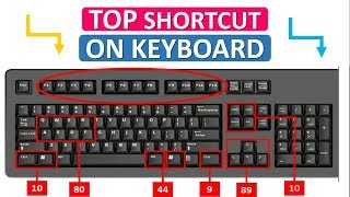 The Best use of FUNCTION KEYS | Computer And Laptop shortcut key | Keyboard SHORTCUT.