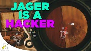 Jager is a Hacker! (Wallbangs, Spawnkills, etc...) - Rainbow Six: Siege