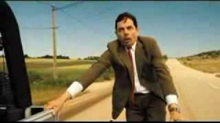 Mr. Bean Holiday bike ride - Crash by Matt Willis.flv